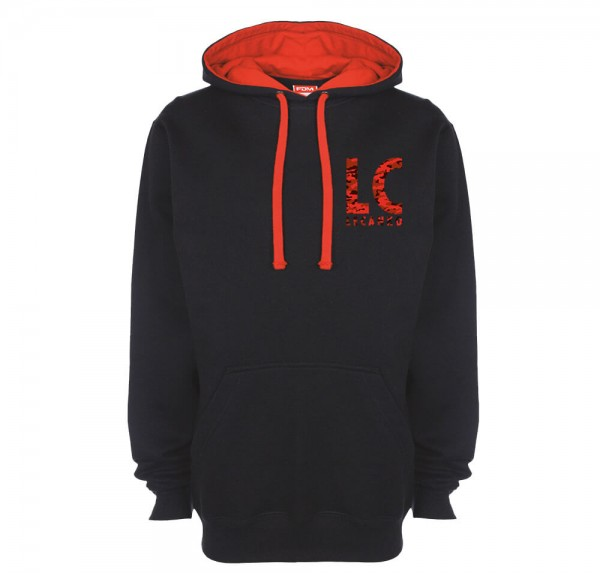 LC - Hoodie - Schwarz/Rot