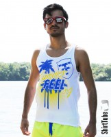 SummerFEELing - Tank Top - Weiss