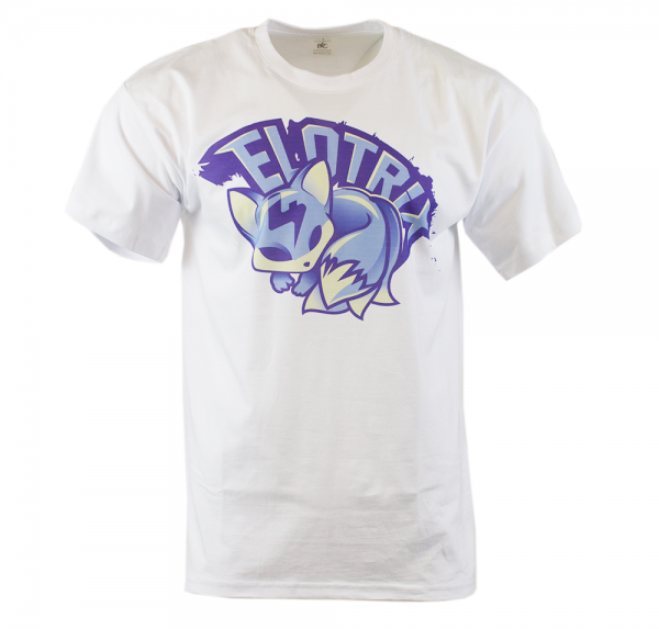 """ELoTRiX """"Blue Fox"""" - T-Shirt - Weiss"""