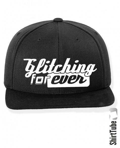 Glitching forever - Cap - Schwarz