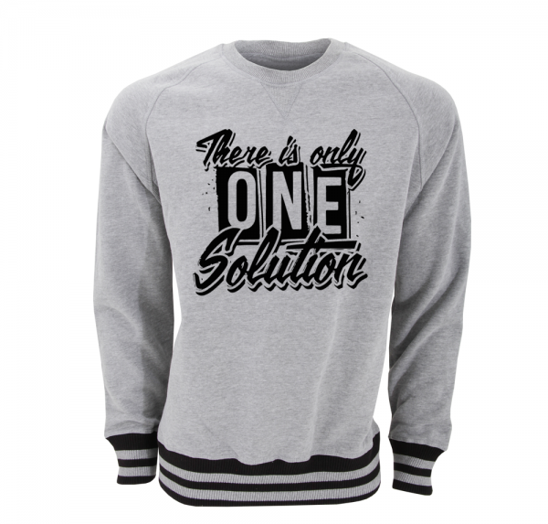 There is the only one - Sweat-Shirt - Grau