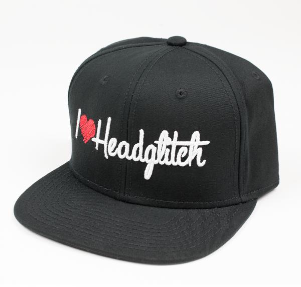 I Love Headglitch - Cap