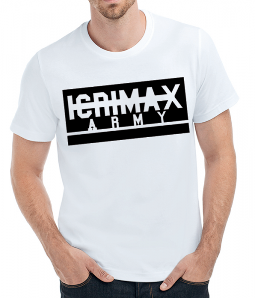 iCrimax-Army - T-Shirt - Weiss