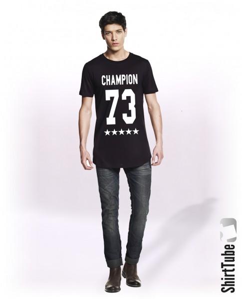Champion 73 - Longshirt - Schwarz