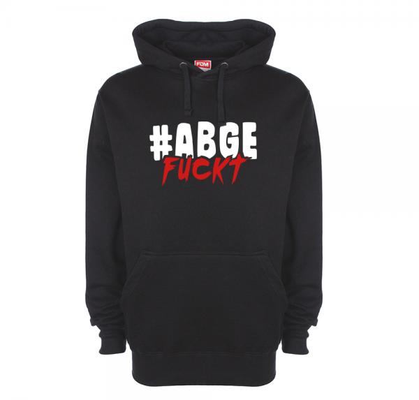 #Abgefuckt - Hoodie - Schwarz