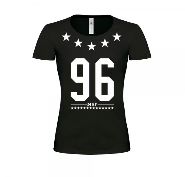 96 MGP - Damen-Shirt - Schwarz