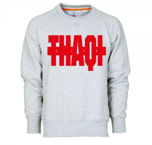 THAQI City - Sweater - Grau