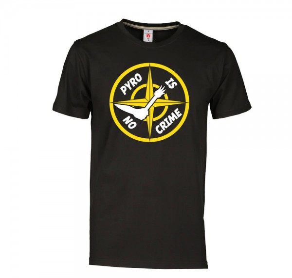 Crime - T-Shirt - Schwarz