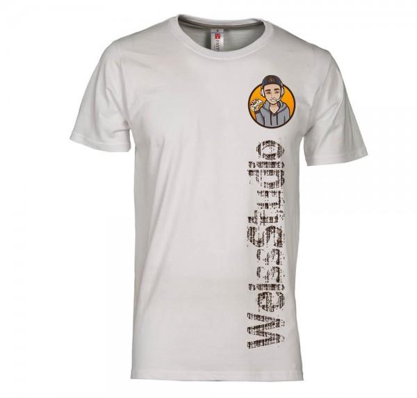 Gamer - T-Shirt - Weiss