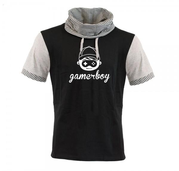 GamerBoy - Schalkragen-Shirt