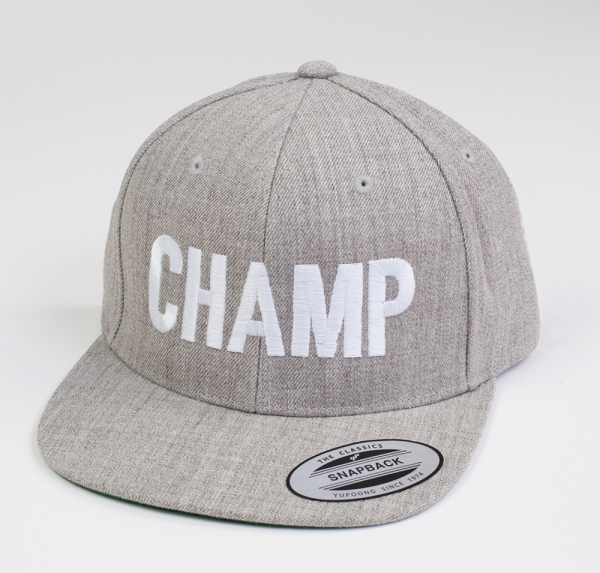 Champ - Cap - Heather Grau