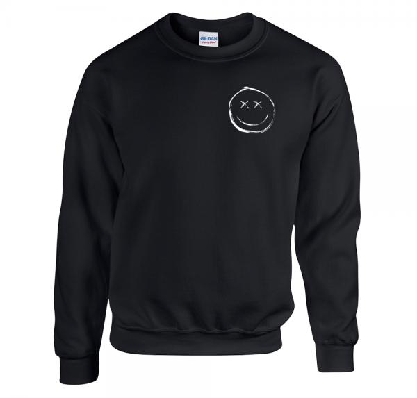 Smiley - Sweater - Schwarz