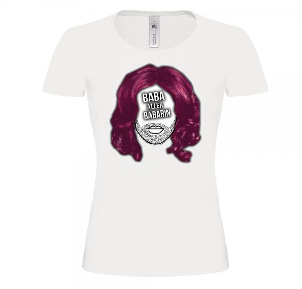 Baba - T-Shirt Damen - Weiß