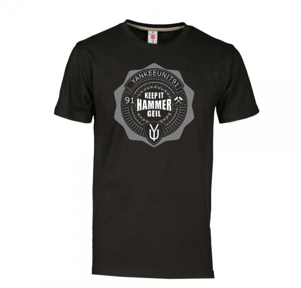 Keep it Hammer Geil - T-Shirt - Schwarz