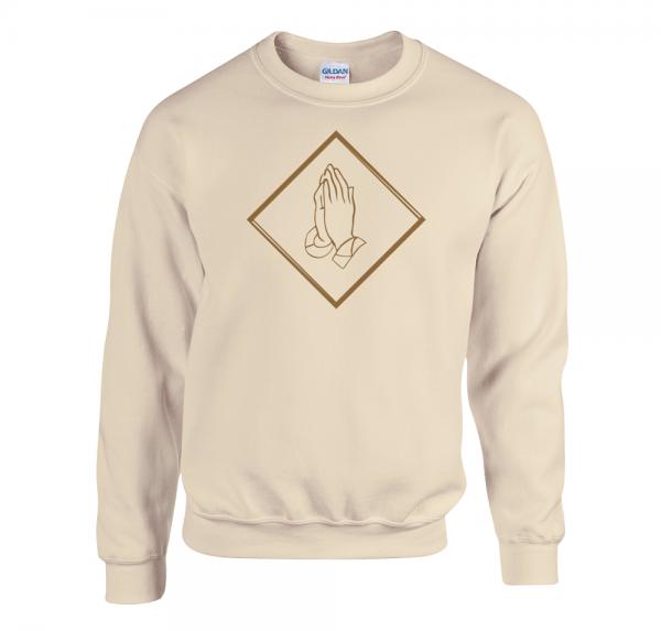 Pray - Sweater - Sand