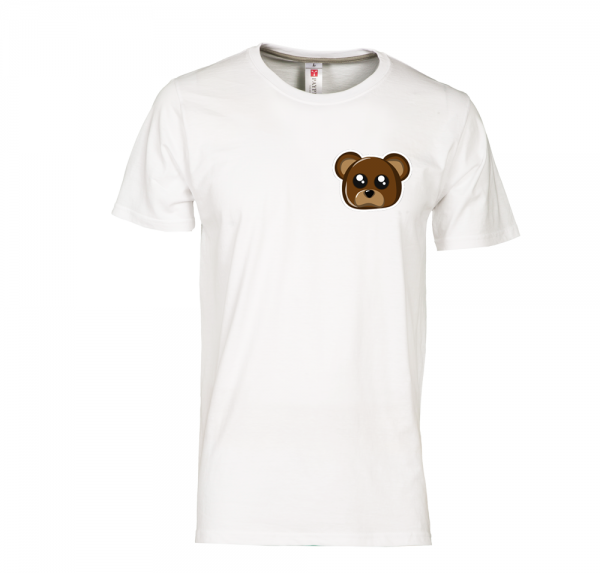 Teddy - T-Shirt - Weiß