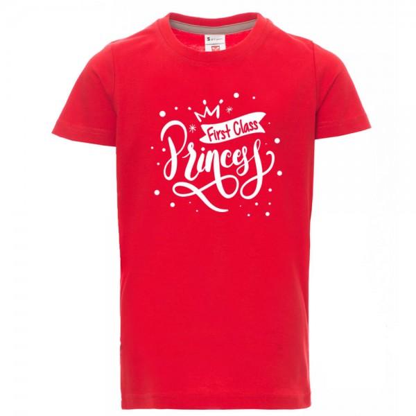First Class Princess - Shirt - Rot