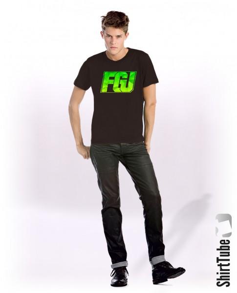 FGU gelb/grün - T-Shirt