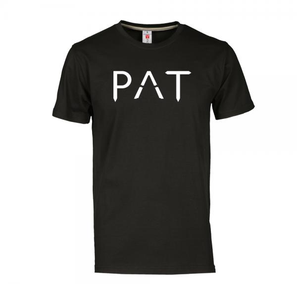 P A T - T-Shirt - Schwarz