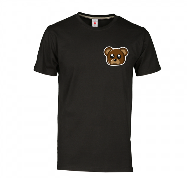 Teddy - T-Shirt - Schwarz