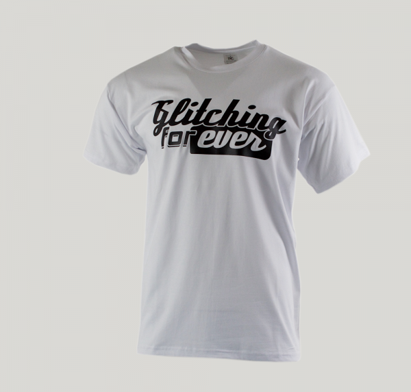 Glitching forever - T-Shirt - Weiss