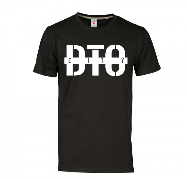 DTO City- T-Shirt - Schwarz