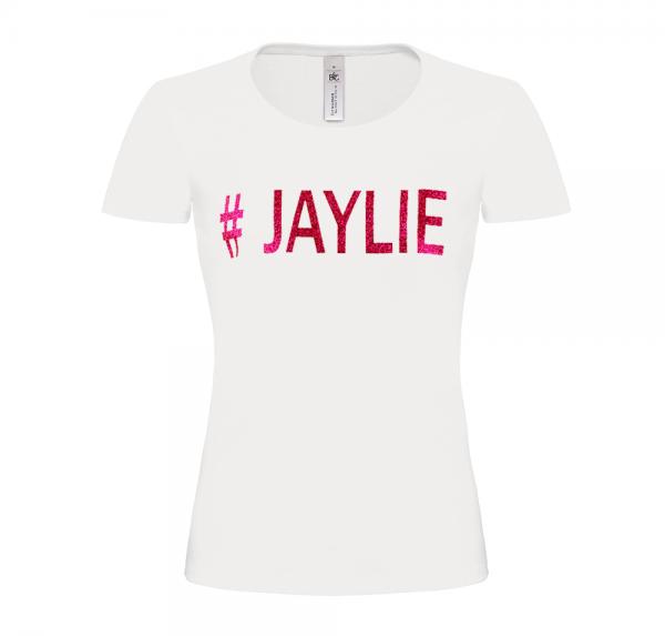 #JAYLIE - T-Shirt Damen - Weiss
