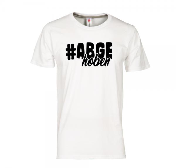 #Abgehoben - T-Shirt - Weiss
