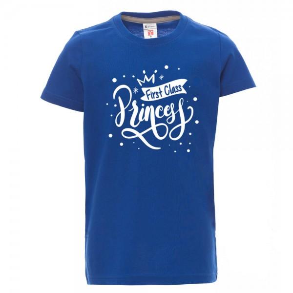First Class Princess - Shirt - Blau