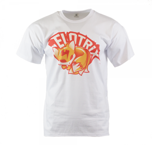 """ELoTRiX """"Red Fox"""" - T-Shirt - Weiss"""