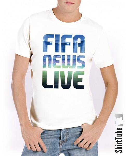 Soccer-Shirt - Weiss