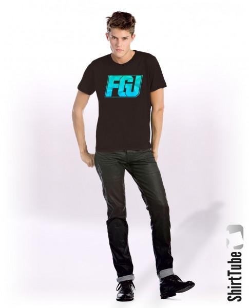 FGU türkis/blau - T-Shirt