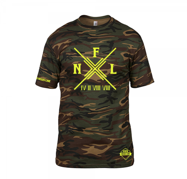 FNL - Camo-Shirt - Grün