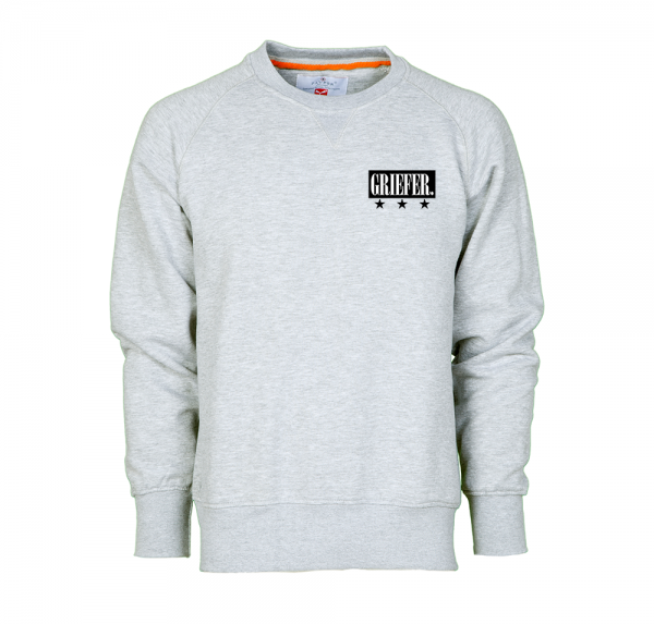 Griefer- Sweater - Grau