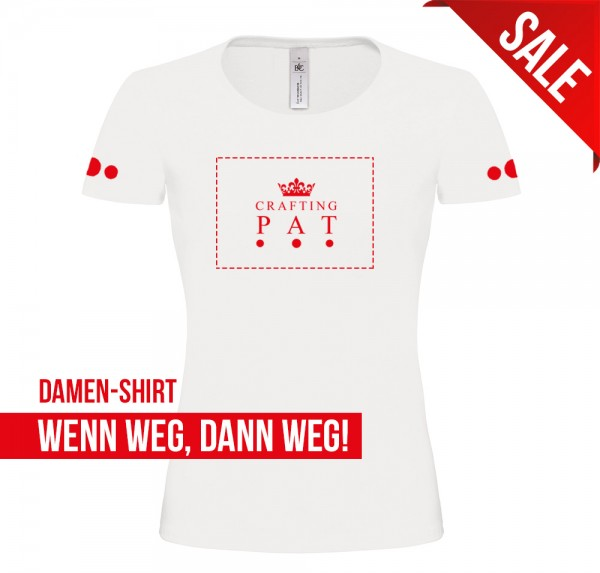 Red Crown - Damen-Shirt - Weiss