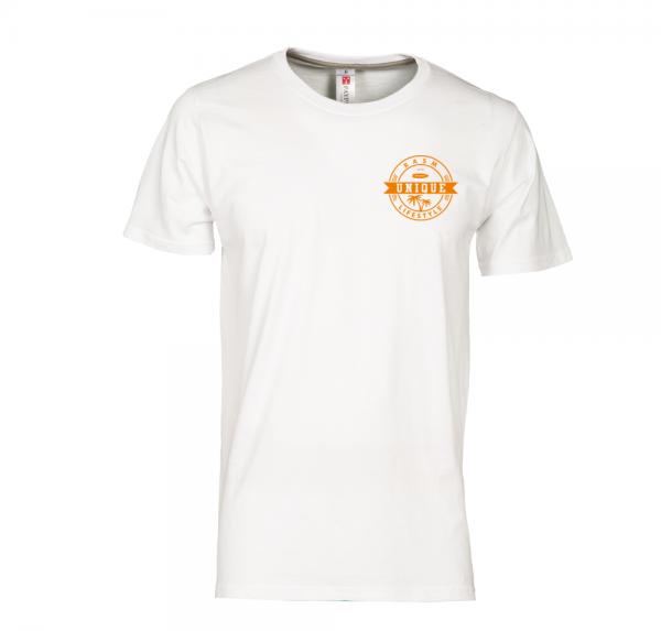 Unique - T-Shirt - Weiss