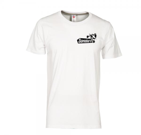 Supermoto - T-Shirt - Weiss