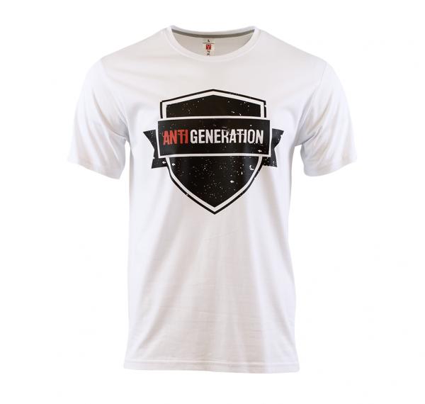 Shield - T-Shirt - Weiss