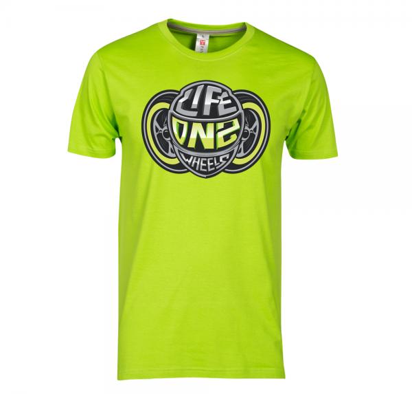WIR LEBEN - T-Shirt - Lime Green