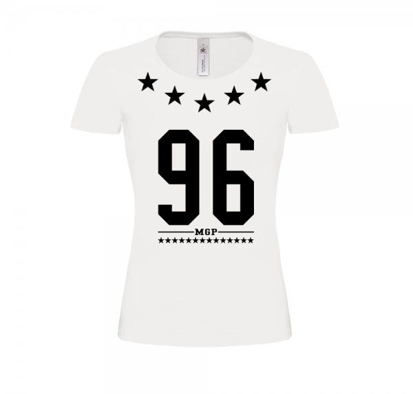 96 MGP - Damen-Shirt - Weiss