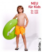 SummerFEELing - Badeshort KIDS - Orange