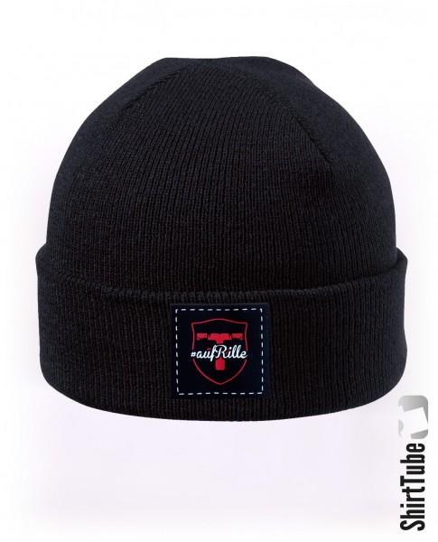 Mütze - #aufRille - Schwarz