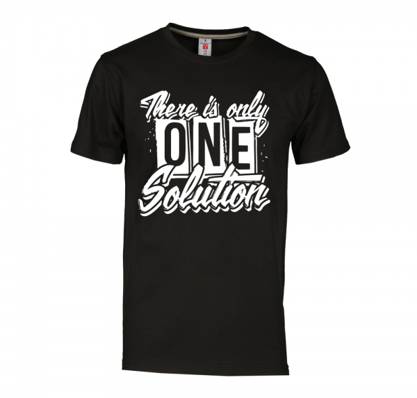 There is the only one - T-Shirt - Schwarz