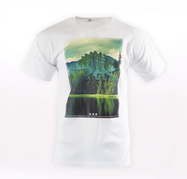Nature - T-Shirt - Weiss