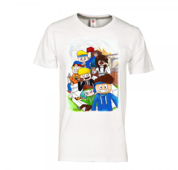 Who's Your Daddy Crew - T-Shirt - Weiss