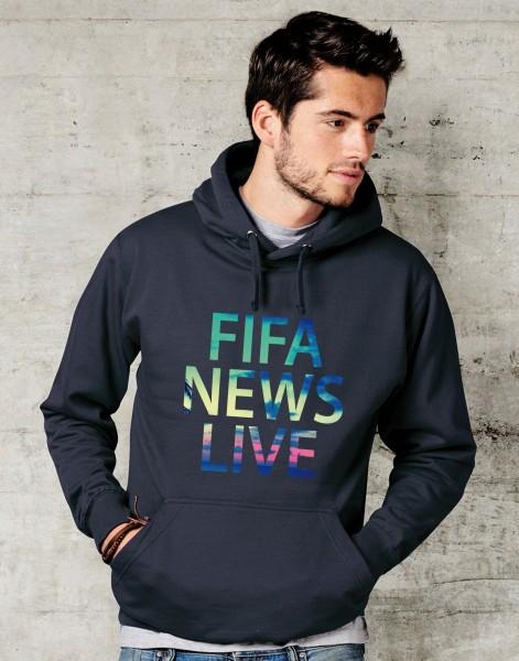 Fifa News Live - Hoddie - Schwarz