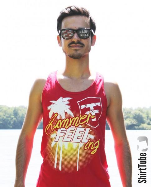 SummerFEELing - Tank Top - Rot