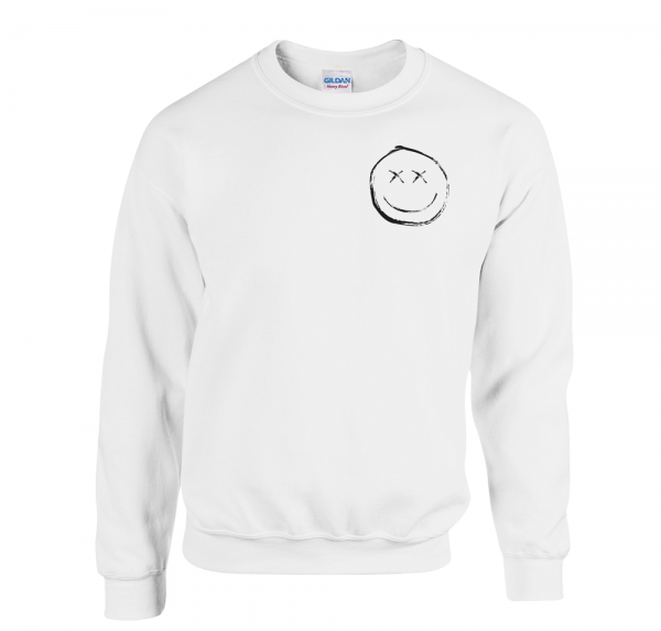 Smiley - Sweater - Weiss