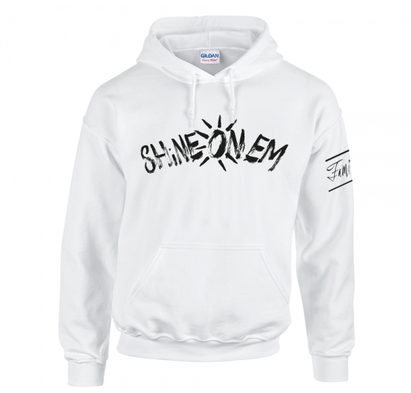 Shine On Em - Hoodie - Weiss