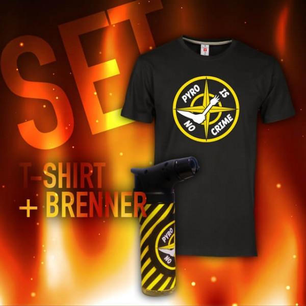 Crime - SET - T-Shirt + Brenner